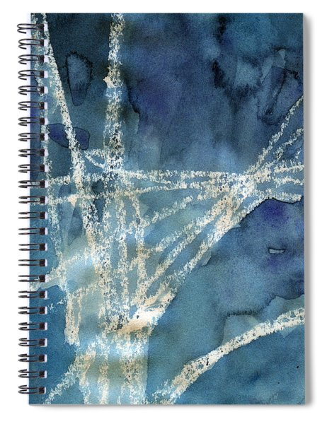 Flight Path- Abstract Painting Spiral Notebook