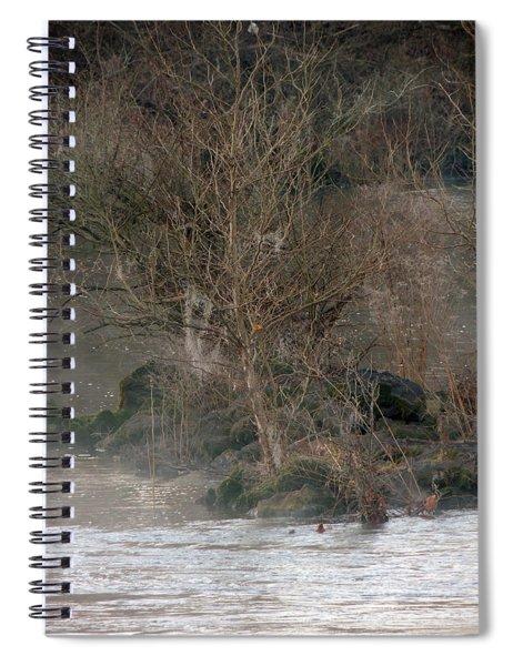 Flint River 19 Spiral Notebook