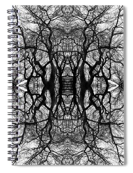 Tree No. 11 Spiral Notebook
