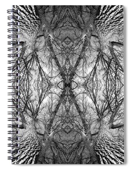 Tree No. 7 Spiral Notebook