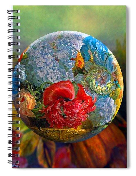 Floral Ambrosia Spiral Notebook