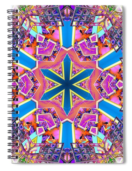 Floral Dreamscape Spiral Notebook
