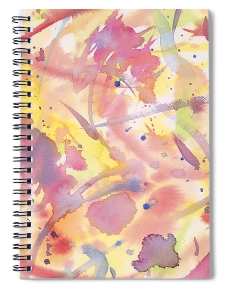 Floral Heaven Spiral Notebook