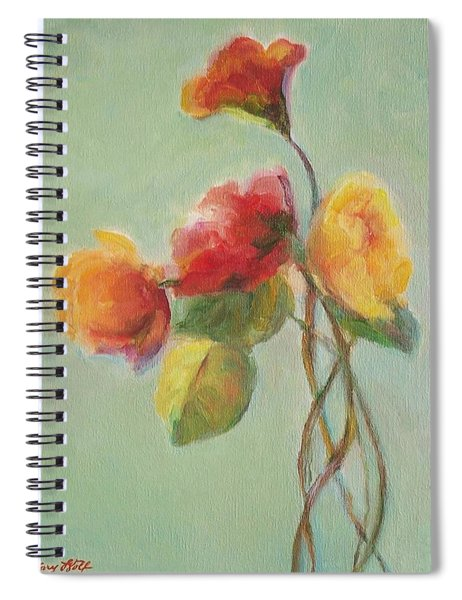 Floral Painting Spiral Notebook