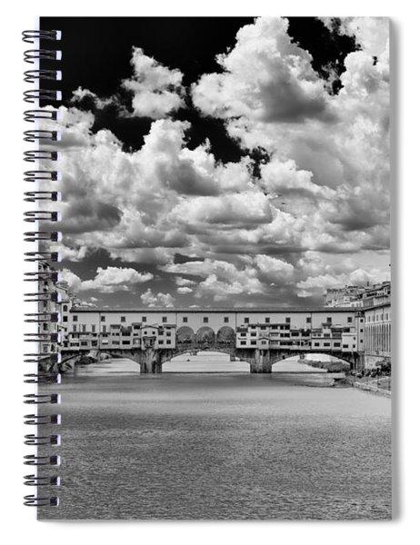 Florence Old Bridge Spiral Notebook