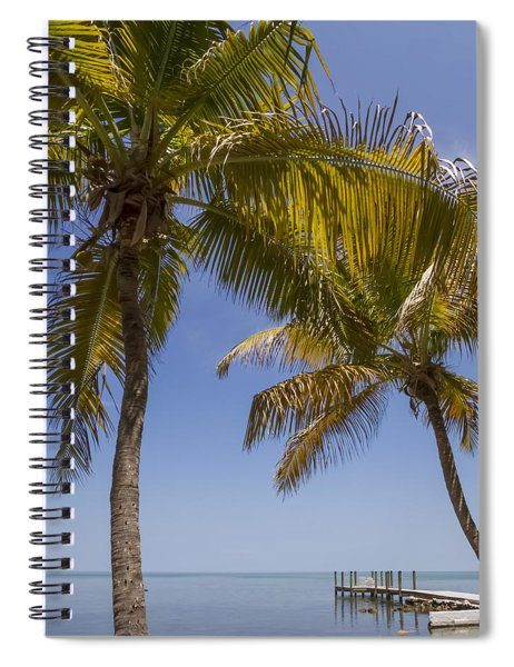 Florida Keys Heavenly World Spiral Notebook by Melanie Viola