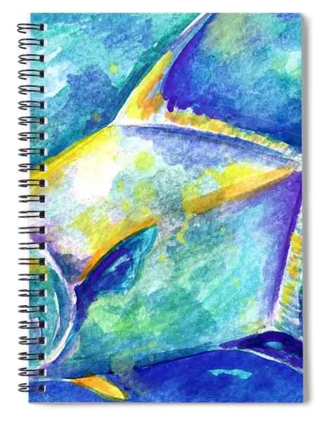 Florida Keys Permit Spiral Notebook