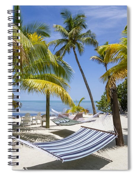 Florida Keys Wellness Spiral Notebook by Melanie Viola