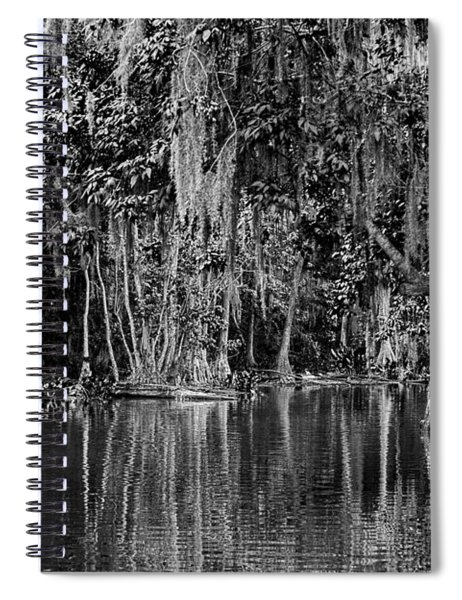 Florida Naturally 2 - Bw Spiral Notebook