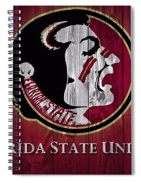 Florida State University Barn Door Spiral Notebook