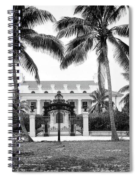 Florida Whitehall, C1910 Spiral Notebook