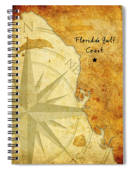 Florida's Gulf Coast Spiral Notebook