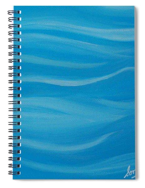 Flow2 Spiral Notebook
