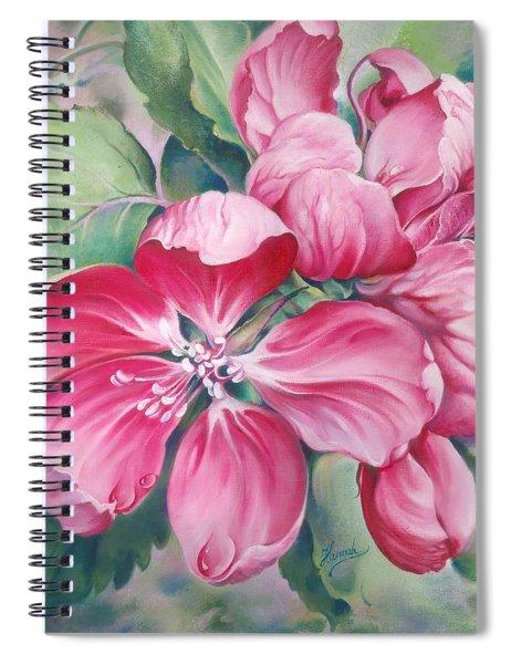 Flower Of Crab-apple Spiral Notebook