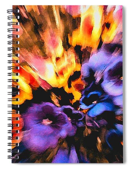 Flower Trip Spiral Notebook