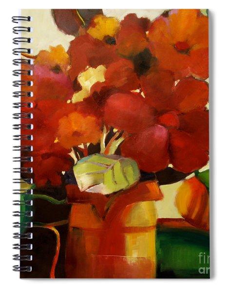Flower Vase No. 3 Spiral Notebook