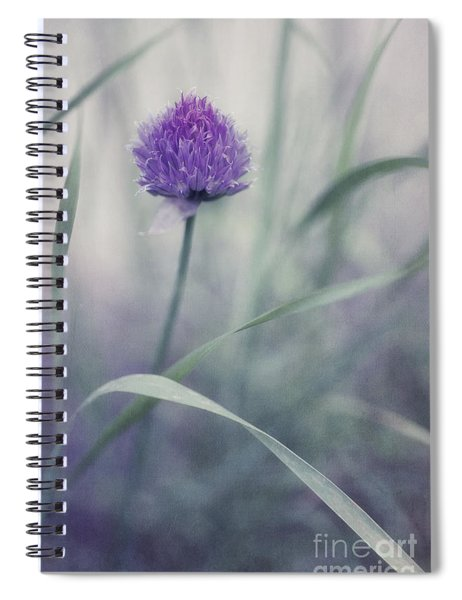 Flowering Chive Spiral Notebook