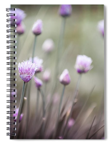 Flowering Chives II Spiral Notebook
