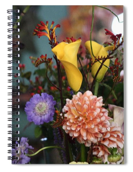 Flowers From My Window Spiral Notebook