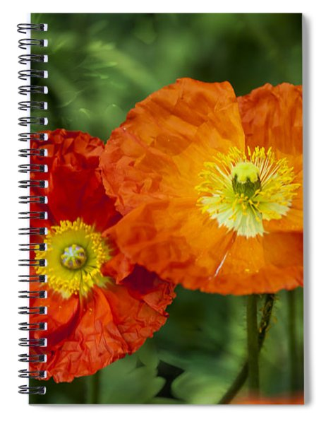 Flowers In Kodakchrome Spiral Notebook