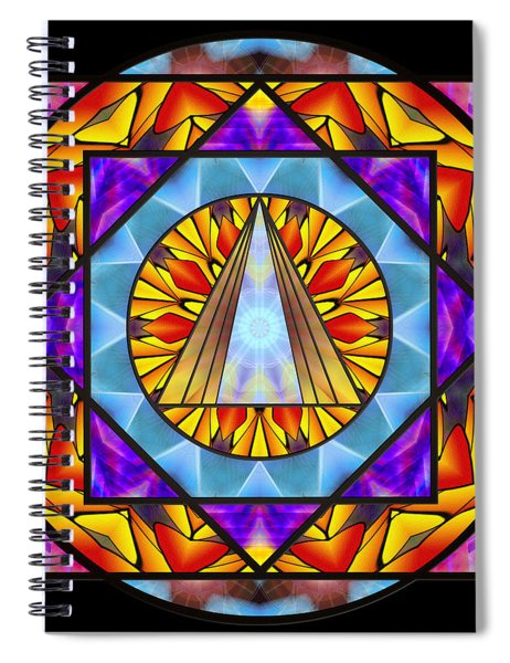 Fluid Transformation Spiral Notebook