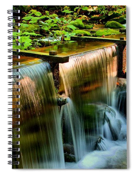 Flume Overflow  Spiral Notebook