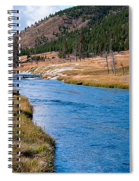 Fly Fishing In Yellowstone  Spiral Notebook
