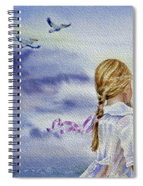 Fly With Us Spiral Notebook