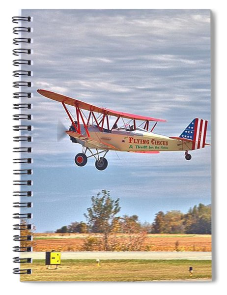 Flying Circus Barnstormers Spiral Notebook