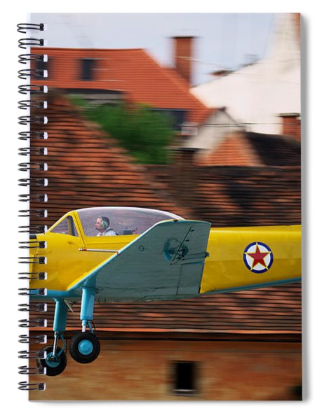 Flying Low Spiral Notebook