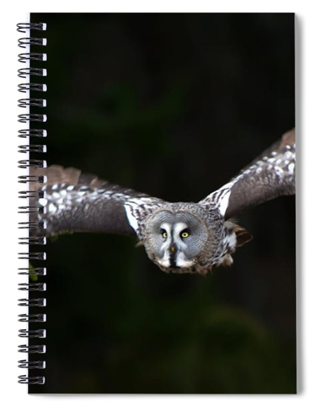Focus On The Target Spiral Notebook