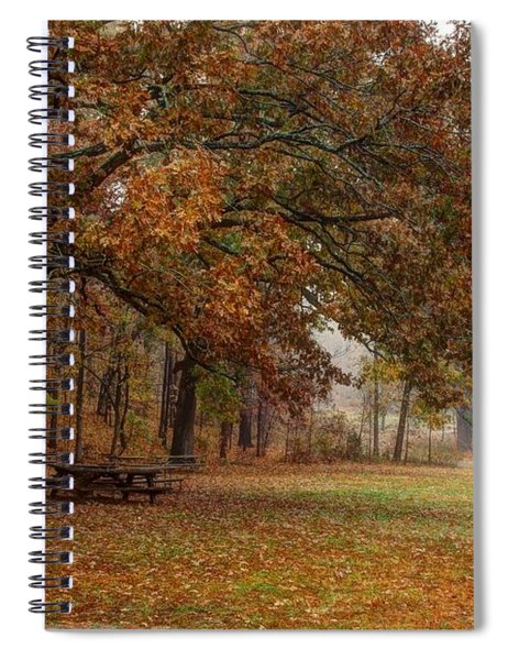Fog And Foliage Spiral Notebook
