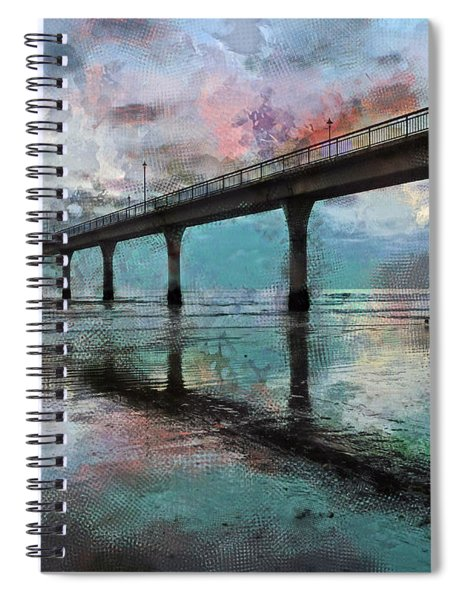 Fogged Spiral Notebook