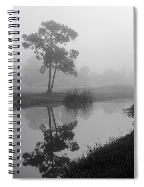 Foggy Morning 2 Spiral Notebook
