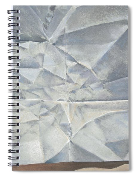 Folded Paper Spiral Notebook