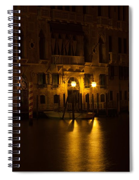 Follow Me Across The Water And Time Spiral Notebook