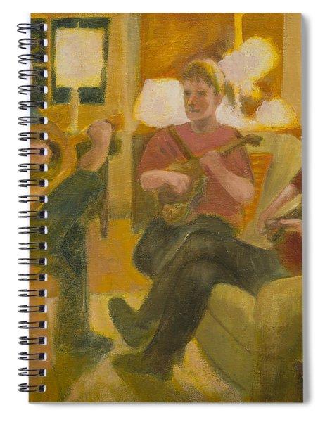 Following John Spiral Notebook