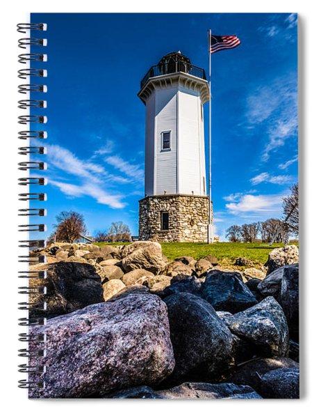 Fond Du Lac Lighthouse Spiral Notebook