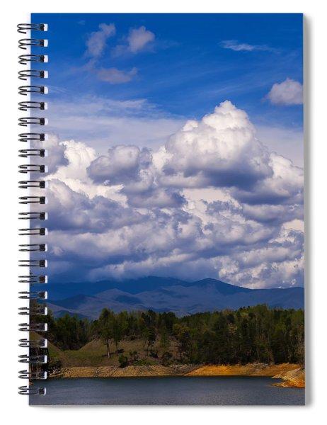 Fontana Lake Storm 2 Spiral Notebook