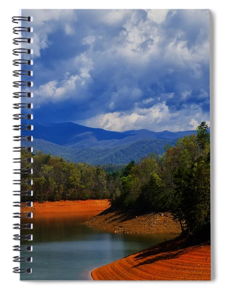 Fontana Lake Storm Spiral Notebook