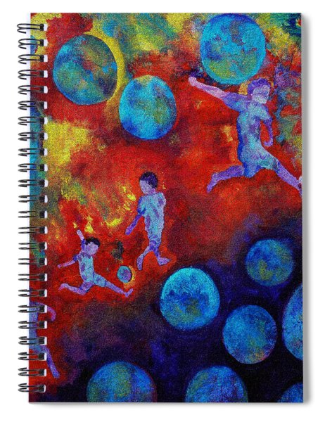 Football Dreams Spiral Notebook