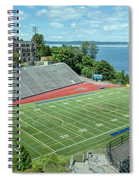 Football Field By The Bay Spiral Notebook
