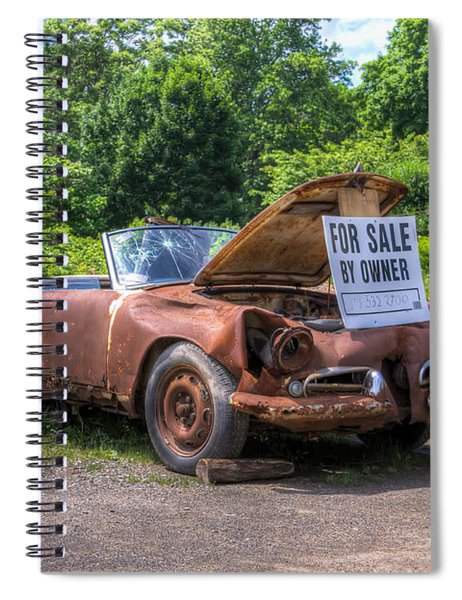 For Sale By Owner Spiral Notebook