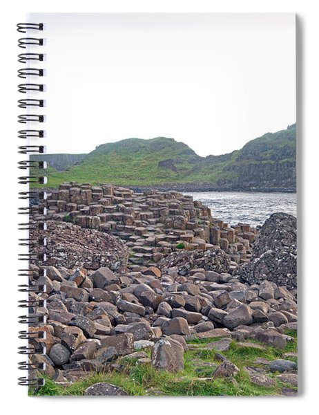For The Cause -- Giant's Causeway -- Ireland Spiral Notebook