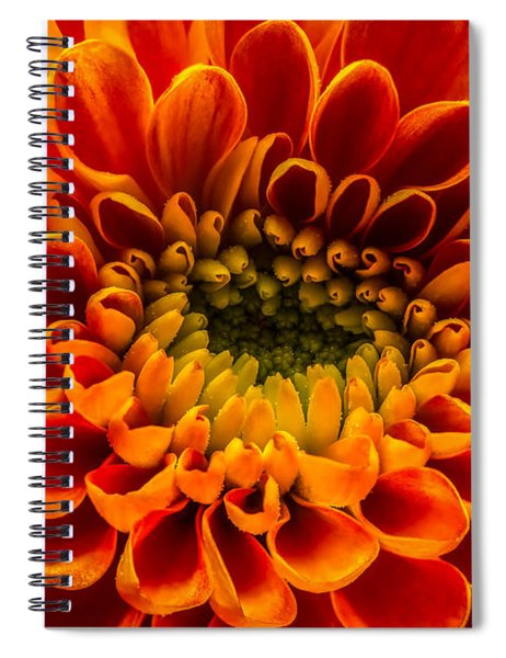 The Heart Of A Mum Spiral Notebook