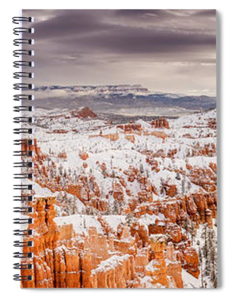 Forbidding Spiral Notebook