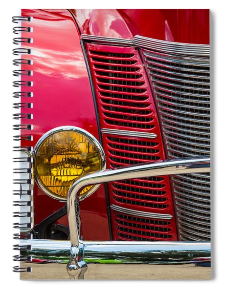 Ford 01a Deluxe Coupe Spiral Notebook