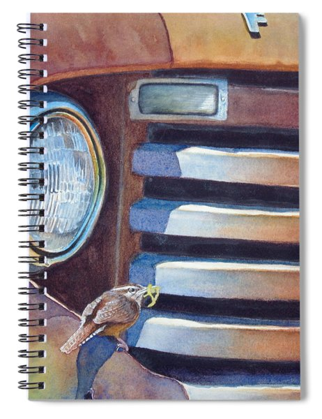 Ford And Wren Spiral Notebook