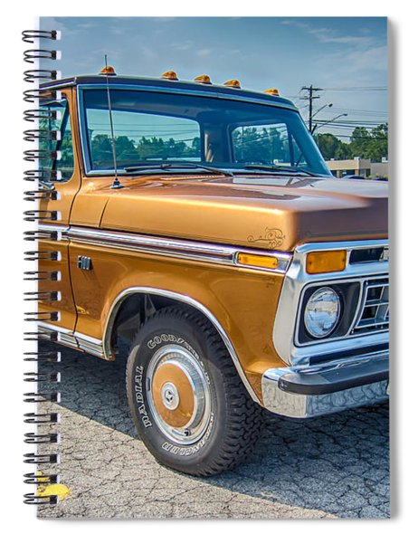 Ford F-100 7p00531h Spiral Notebook