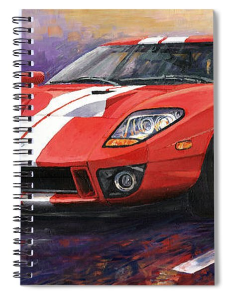 Ford Gt 2005 Spiral Notebook